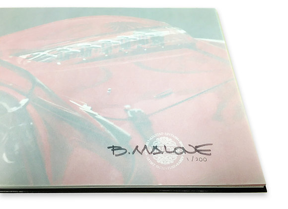 Enzo Book with Signature, Seal and Limited Edition numbering