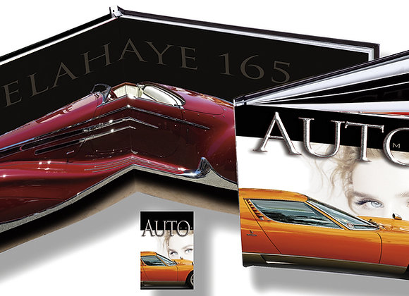 "AUTOmobile Book  11.5"" x 15.0"" 64 Pages"