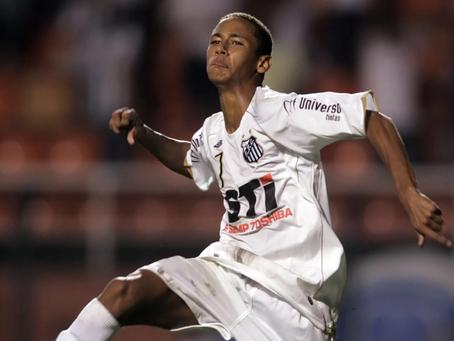 Faltou pouco! A magia de Neymar quase se inicia no Abreuzão