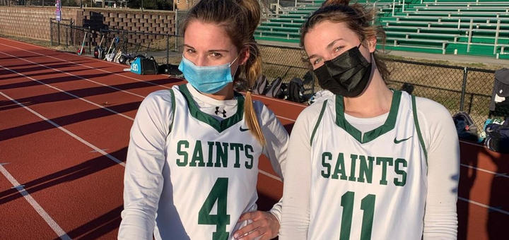 Fall sports are back! Can you believe it? Field Hockey, Tennis, Volleyball, Girls & Boys Soccer were able to compete in their first matchup of the season. On March 5, these student athletes put their Saints jerseys back on for the first time in 358 days. They played hard for the name across their chest!