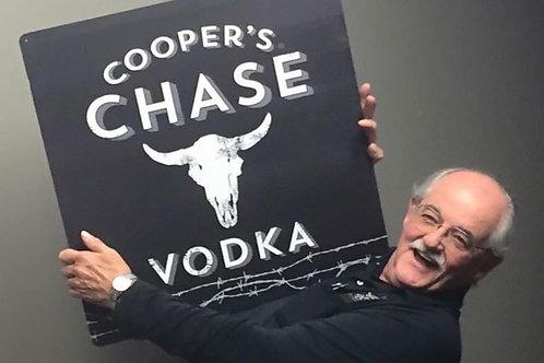 Cooper's Chase Vodka Bar Sign
