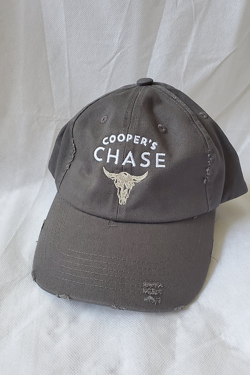 Cooper's Chase Gray Weathered Hat