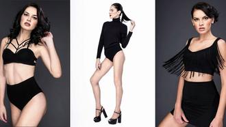 Modelo descoberta no concurso Miss Brasil  faz carreira internacional.