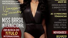 Capa de Abril da Revista Visual Fashion