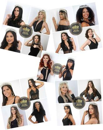 Conheçam as candidatas que disputaram o Miss Pará Internacional 2018