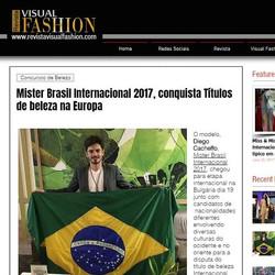 Estamos felizes pela participação do nosso Mister na etapa Internacional