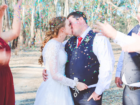 Cathy & Billie's Swan Hill Wedding   Albury Wodonga Wedding Photographer