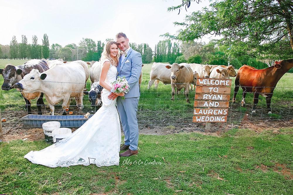 Albury Wodonga Country Wedding
