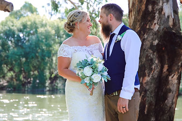 Larissa and Trent Albury Wedding Photos-