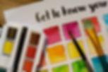 Watercolour Worksheet Image
