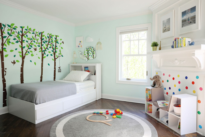 child's bedroom-biophillic design
