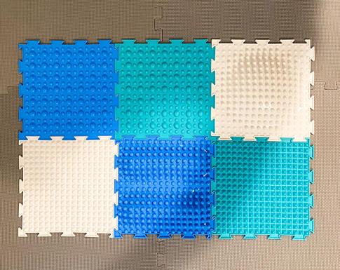 Sensory mat tiles