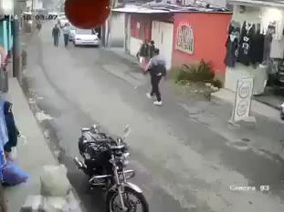 Ataque de un perro contra un niño en Mixco