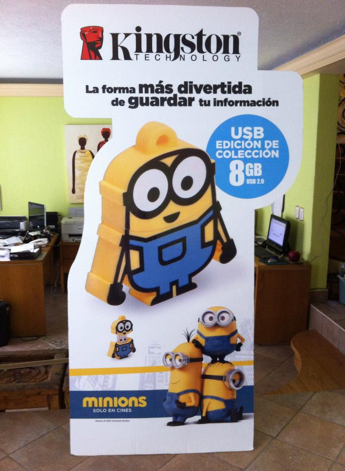 STANDEES minions kingston