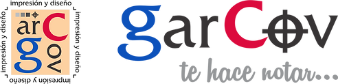 Logo Garcov impresión y diseño imprenta en xochimilco