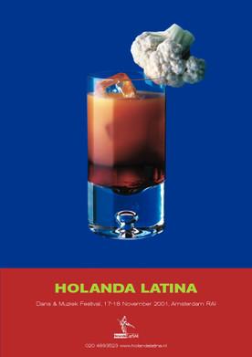 HOLANDA LATINA PRINT AD