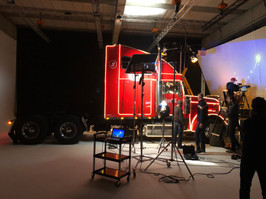 SHOOTING THE COCA-COLA TRUCK FOR THE INSTAGRAM XMAS CHOIR