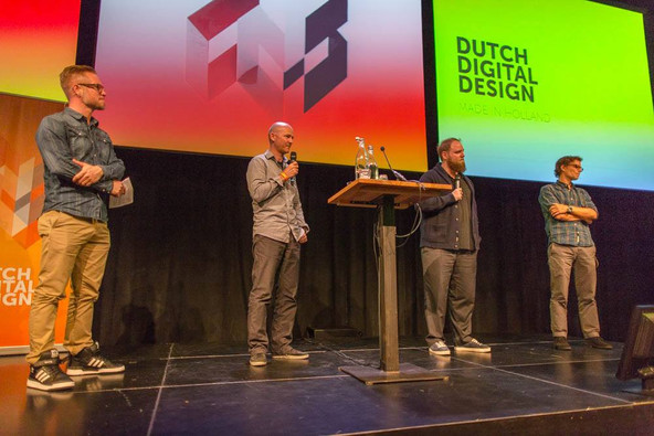 PRESENTING THE KLM SPACE CASE WITH WESLEY TER HAAR AT DUTCH DIGITAL DESIGN WEEK