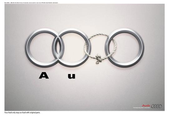 Audi dealership print ad