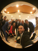 WITH THE PITCH TEAM FOR THE EGYPTIAN TOURIST AUTHORITY IN CAIRO