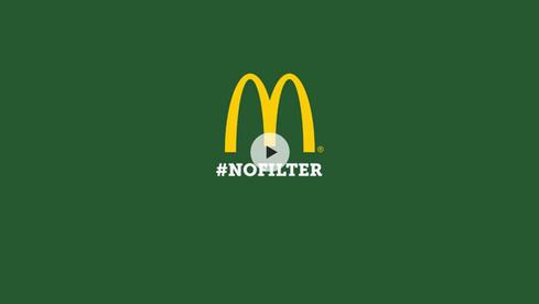 MCDONALD'S #NOFILTER