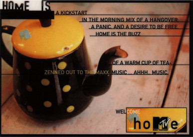 MTV BRAND PRINT AD