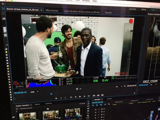 HEINEKEN CHAMPIONS LEAGUE CAMPAIGN SHOOT IN COLOMBIA WITH CLARENCE SEEDORF