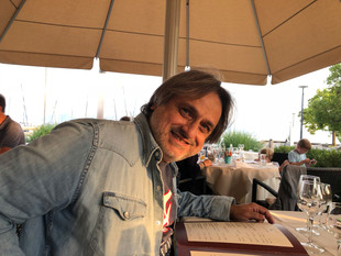 HUBERT BOULOS AT THE BEAU RIVAGE IN LAUSANNE