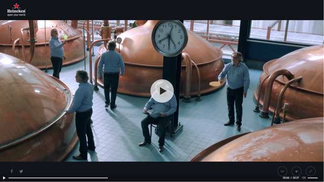 HEINEKEN PRODUCT STORIES INTERACTIVE