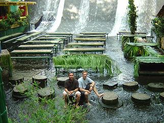 Villa Escudero - P and G near the waterf