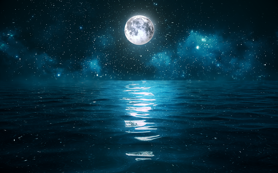 Debussy clair de lune concept image