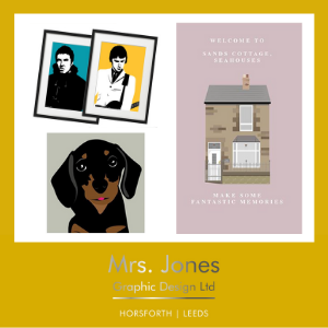MRS JONES GRAPHIC DESIGN