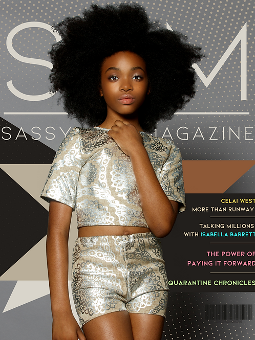 Sassy Girl Magazine VOL. II (Year of the Young CEO)