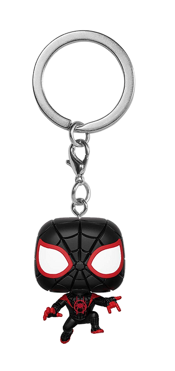 Funko POP! Keychain Animated Spider-Man - Miles Morales