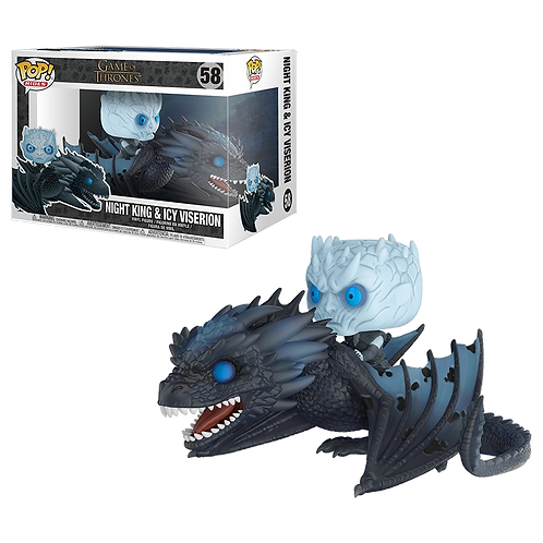 Funko POP! - Rides: Game of Thrones 58 - Night King & Icy Viserion