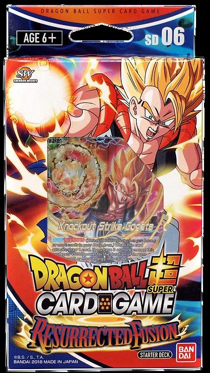 Dragon Ball Super Card Game Resurrected Fusion - STARTER DECK - ITA