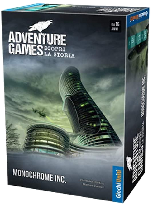 Adventure Game: Monochrome inc.