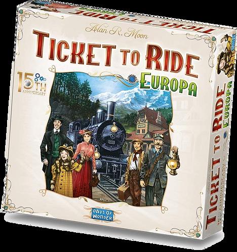 Ticket to Ride - Europa 15° Anniversario