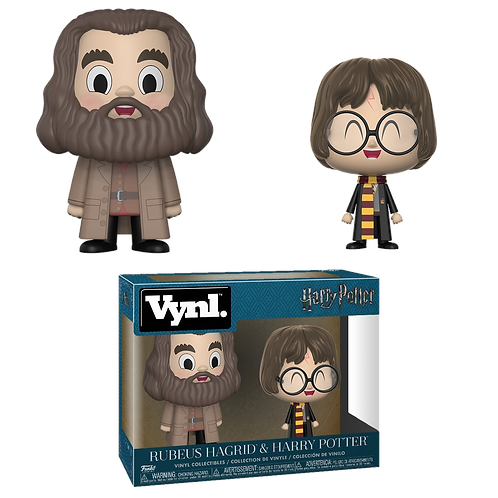 FunKo Vynl Harry Potter & Hagrid 3.75""