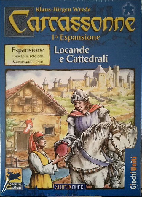 Carcassonne Exp 1 Locande e cattedrali - IT