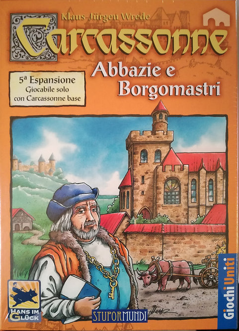 Carcassonne Exp 5 Abbazie e Borgomastri - IT