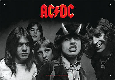 AC-DC HIGHWAY TO HELL TIN SIGN