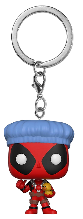 Funko POP! Keychain Deadpool Bathtime