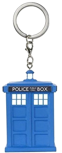 Funko POP Keychain Doctor Who Tardis