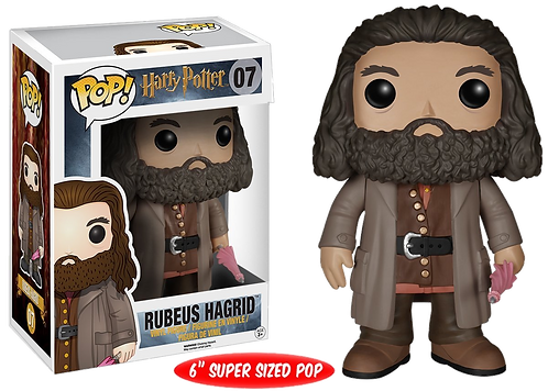 POP HARRY POTTER 07 RUBEUS HAGRID