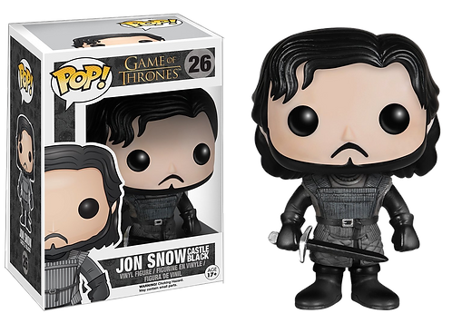Funko POP! TV - Game of Thrones: 26 Jon Snow Castle Black