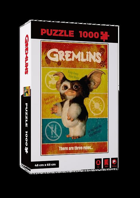 GREMLINS THREE RULES 1000 PCS PUZZLE
