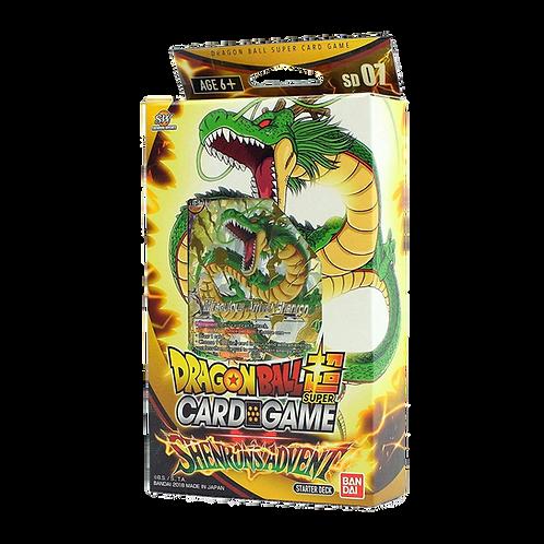 Dragon Ball Super Card Game - Shenron's Advent -STARTER DECK - ITA