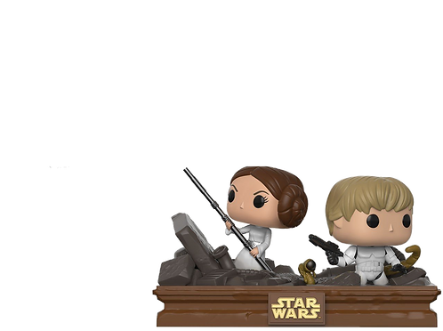 Funko Star Wars: Movie Moments: Luke & Leia Trash Compactor