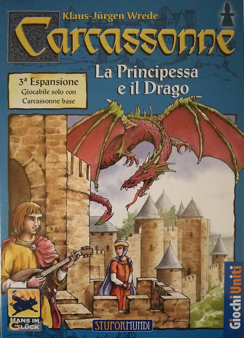 Carcassonne Exp 3 La Principessa e il Drago - IT